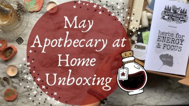 Apothecary at Home Unboxing || Herbs for Energy & Focus