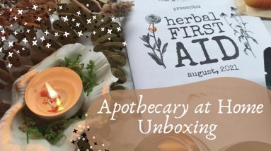 August Apothecary at Home Unboxing