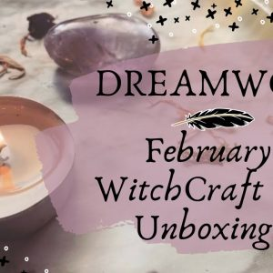 Feb. WitchCraft Way Unboxing || Witchy Subscription Box