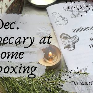 Herbal Immunity || December Apothecary at Home Unboxing || Elderberry Syrup