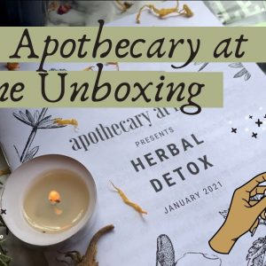 January Apothecary at Home Unboxing || Herbal Subscription Box