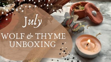 July Wolf & Thyme Unboxing || Sacred Breath
