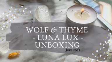 June Luna Lux Box from Wolf & Thyme