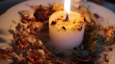 Mabon Candle Offering