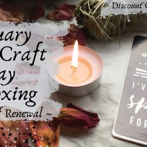 New Years Spell || January Witchcraft Way Unboxing