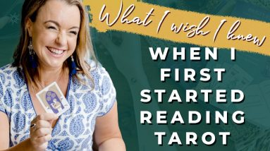 What I Wish I Knew When I First Started Reading Tarot | Biddy Tarot Podcast