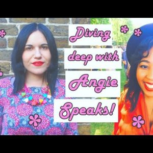Deep Chats | Race, Class, Capitalism, Solidarity & Witchy Consumption with Angie Speaks
