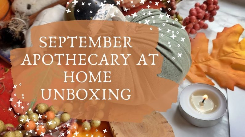 Herbs To Breath Easy    Apothecary at Home Unboxing
