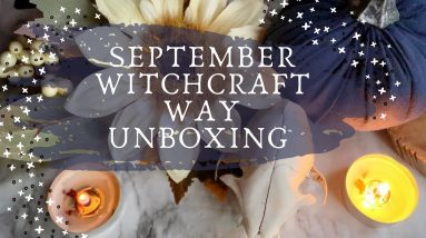 Last Witchcraft Way Unboxing || Mabon Moons