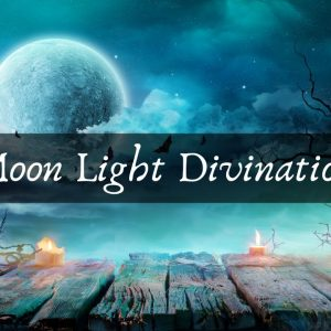 Moon Light Divination Candle