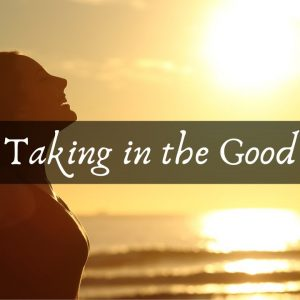 Taking in the Good