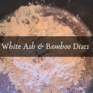White Ash and Bamboo Discs