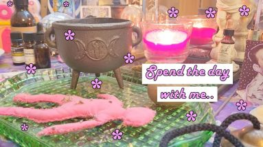 Date With Myself (Come Along!)   Witchy Practice, Books, Clothes, Food, Sunrise Walk..